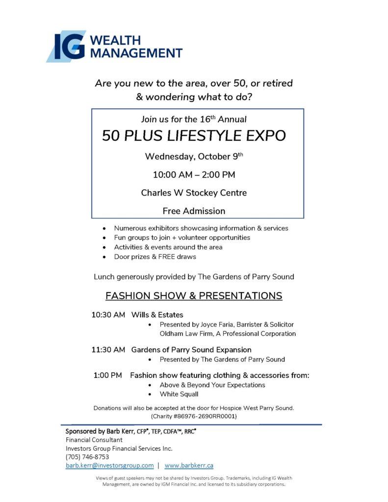 Lifestyle Expo Poster
